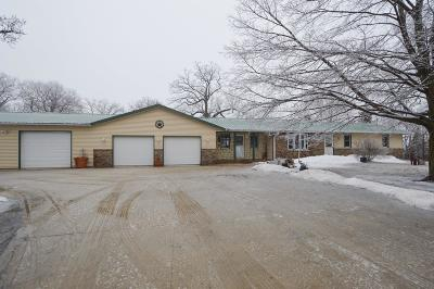 Kenosha County Single Family Home Active Contingent With Offer: 8421 Fox River Rd
