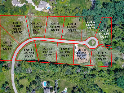 Pewaukee Residential Lots & Land For Sale: Lt9 Rookery Rd
