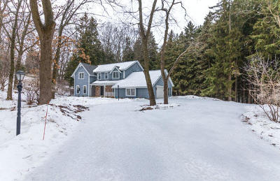 Waukesha County Single Family Home Active Contingent With Offer: N10w31766 Phyllis Pkwy