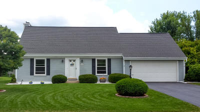 Menomonee Falls Single Family Home Active Contingent With Offer: N76w15970 Hunters Ridge Cir