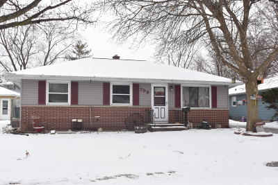 West Bend Single Family Home Active Contingent With Offer: 709 Riverview Dr