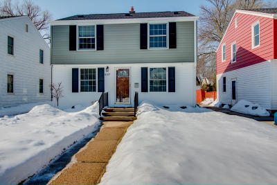 Whitefish Bay Single Family Home Active Contingent With Offer: 5157 N Shoreland Ave