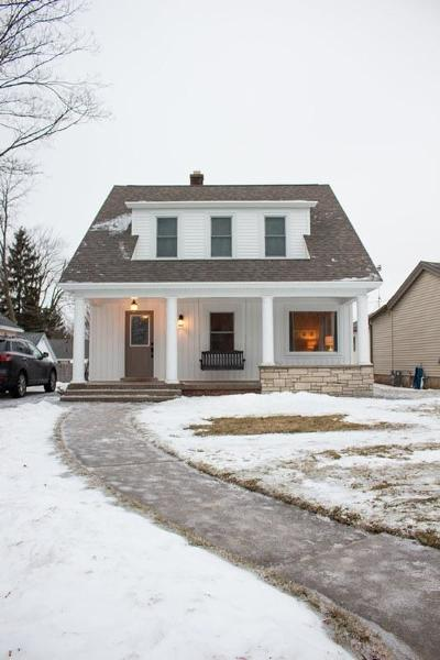 Sheboygan Falls Single Family Home Active Contingent With Offer: 548 Pine St