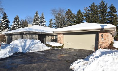 Mequon Condo/Townhouse Active Contingent With Offer: 6424 W Aspen Tree Ct #110N