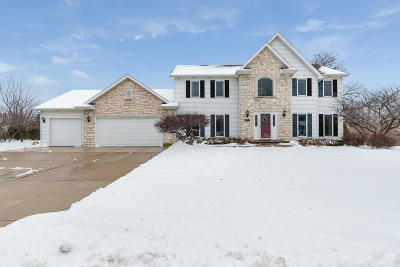 Pleasant Prairie WI Single Family Home For Sale: $414,900