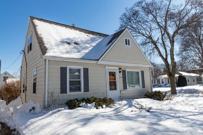 West Allis Single Family Home Active Contingent With Offer: 2476 S 69th St