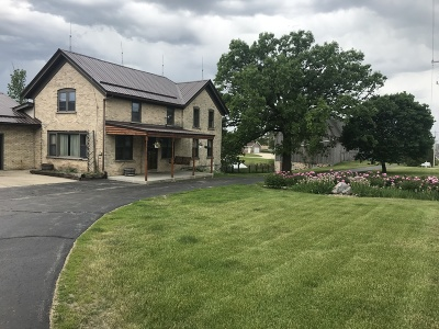 West Bend Single Family Home For Sale: 1545 County Road A