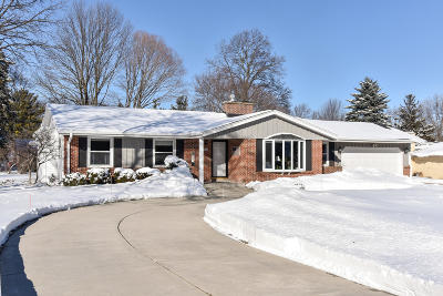 Waukesha County Single Family Home Active Contingent With Offer: 12720 Robinwood St