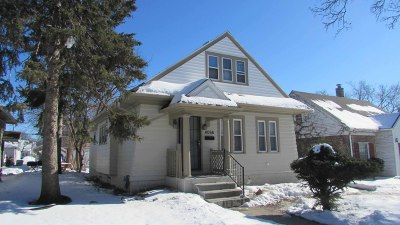 Milwaukee County Single Family Home For Sale: 4066 N 20th St