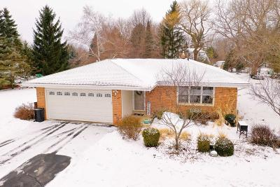 Nashotah Single Family Home Active Contingent With Offer: W330n5445 Linden Cir E