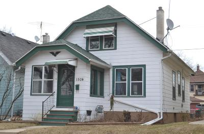 West Allis Single Family Home Active Contingent With Offer: 1504 S 82nd St