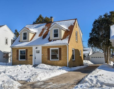 West Allis Single Family Home Active Contingent With Offer: 2046 S 94th St