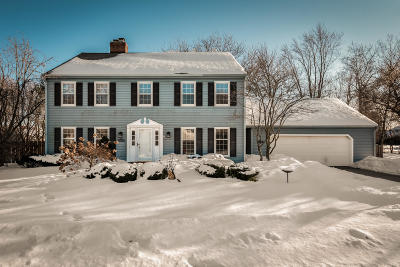 Cedarburg Single Family Home Active Contingent With Offer: N102w7275 Drury Ln