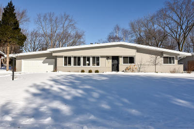 Milwaukee County Single Family Home For Sale: 2220 W Greenwood Rd