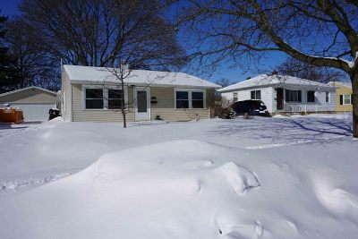 Racine Single Family Home Active Contingent With Offer: 3438 3rd Ave