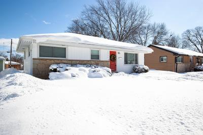Milwaukee WI Single Family Home For Sale: $134,900
