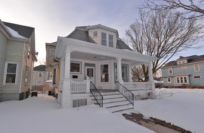 Racine Single Family Home Active Contingent With Offer: 1802 Park Ave