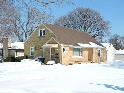 Wauwatosa Single Family Home Active Contingent With Offer: 506 N 107th St