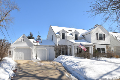 Wauwatosa Single Family Home Active Contingent With Offer: 638 Pleasant View St
