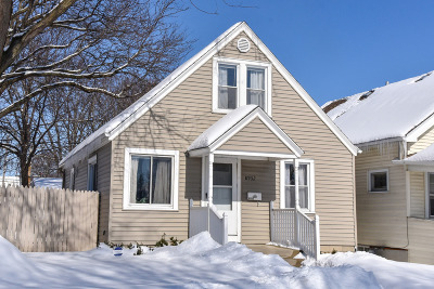 West Allis Single Family Home For Sale: 8932 W Mitchell St