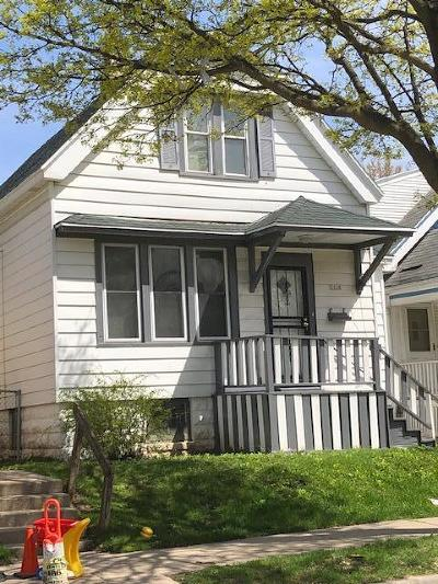 Milwaukee County Single Family Home For Sale: 3634 N 12th St