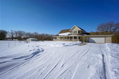 Waukesha County Single Family Home For Sale: W377s6221 County Road Zc