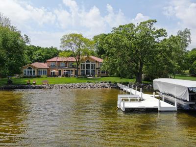 Oconomowoc Single Family Home For Sale: 36234 S Beach Rd