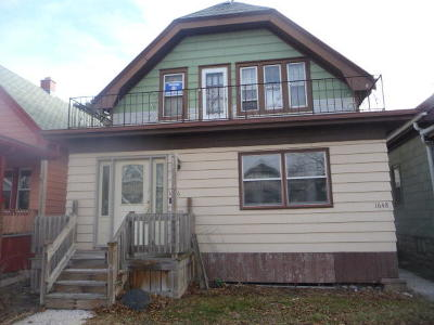 West Allis Two Family Home For Sale: 1646 S 58th St