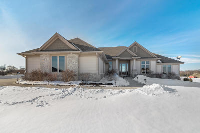 Hartland Single Family Home Active Contingent With Offer: W324n8885 Daley Dr