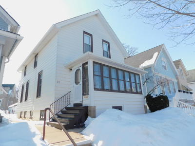 Milwaukee Single Family Home Active Contingent With Offer: 615 E Potter Ave