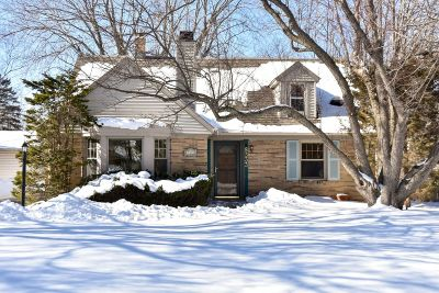 Milwaukee County Single Family Home Active Contingent With Offer: 8333 N Whitney Rd