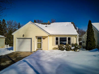 Wauwatosa Single Family Home Active Contingent With Offer: 762 N 116th St