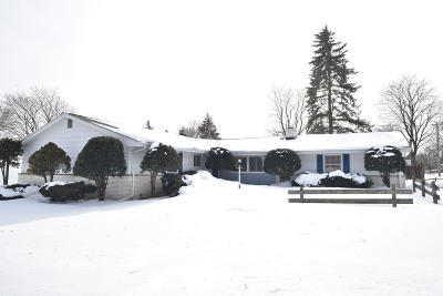Cedarburg Single Family Home Active Contingent With Offer: N77w7181 Oak St
