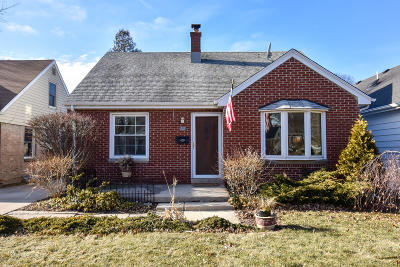 Single Family Home Active Contingent With Offer: 2473 N 82nd St