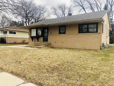 West Allis Single Family Home For Sale: 10143 W National Ave