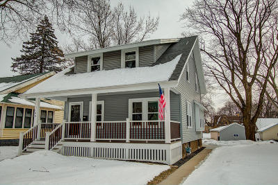 Single Family Home Active Contingent With Offer: 1140 Glenview Ave