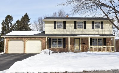 Waukesha Single Family Home Active Contingent With Offer: 1380 Harris Dr