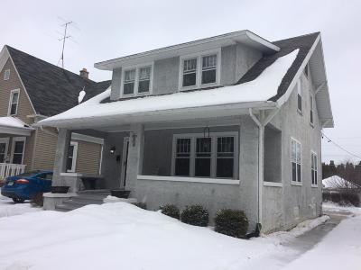 Sheboygan Single Family Home Active Contingent With Offer: 2015 N 7th St