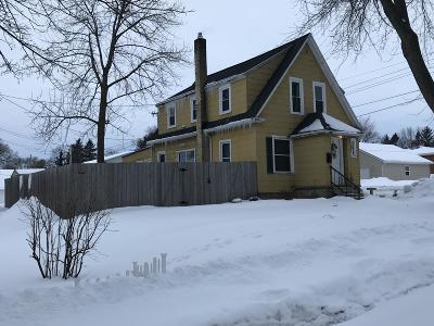 Sheboygan Falls Single Family Home Active Contingent With Offer: 67 Oak Street