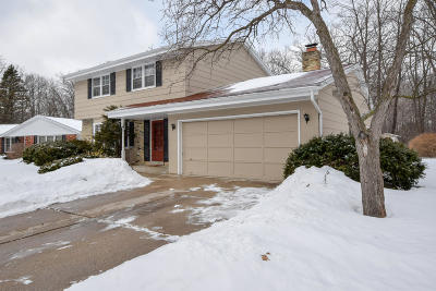 Greendale Single Family Home Active Contingent With Offer: 5824 Ramona Dr