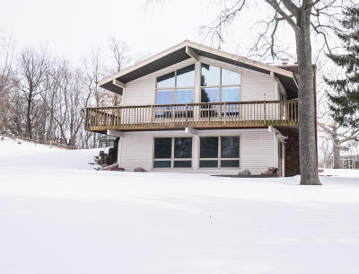 Waukesha Single Family Home Active Contingent With Offer: S63w24750 Mark Trl