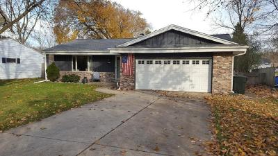 West Allis Single Family Home Active Contingent With Offer: 728 S 124th St