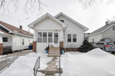 Racine Single Family Home For Sale: 1721 Hagerer St