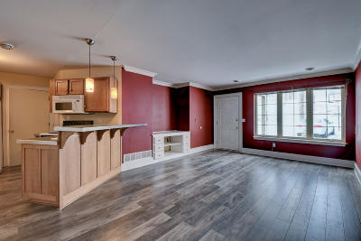 Slinger Condo/Townhouse Active Contingent With Offer: 200 James St #F