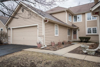 Brookfield Condo/Townhouse Active Contingent With Offer: 3015 River Birch Dr #B