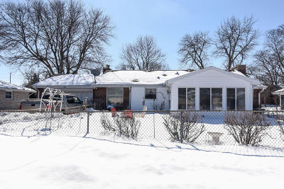 Single Family Home Active Contingent With Offer: 3324 W Edgerton Ave