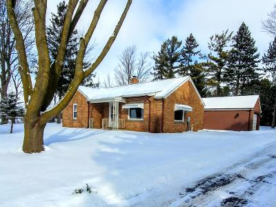 West Bend Single Family Home Active Contingent With Offer: 1450 County Road Nn