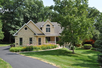 Elkhorn Single Family Home For Sale: W5619 Cool Hill Dr