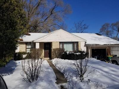 Cedarburg Single Family Home Active Contingent With Offer: N39w5578 Burr Ln