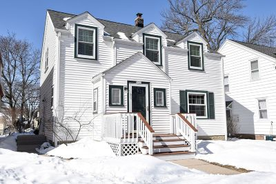 Shorewood Single Family Home Active Contingent With Offer: 4537 N Morris Blvd